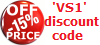 15 per cent discount on shown prices