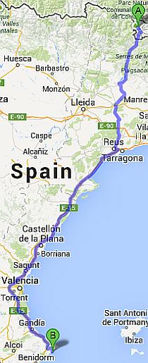 Moraira Spain Map.Villa Spain Blog From Villaspain