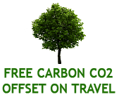 Free Carbon Offset on Travel