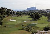 Club de golf 'Ifach' golf course Moraira costa blanca