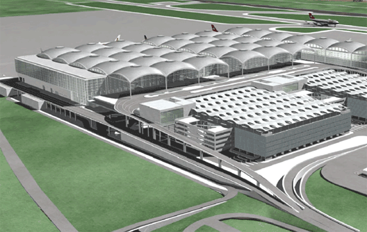 New Alicante airport terminal now open