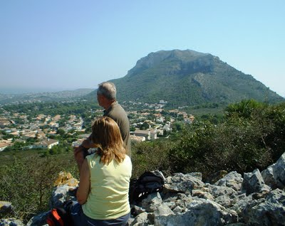 Mountain walks in Javea and Calpe, Costa Blanca